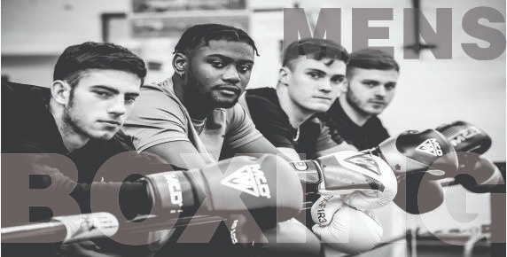 Men Boxing Banner