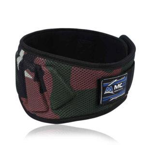 MCD Sports Camo Gym Belt