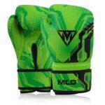 Kids Boxing Gloves Green 2