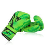 Kids Boxing Gloves Green 5